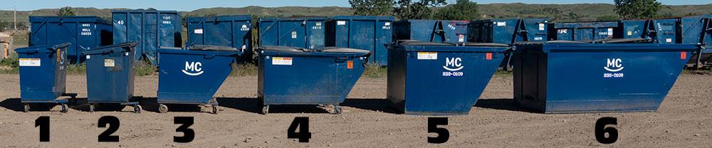 Mc Sanitation Containers